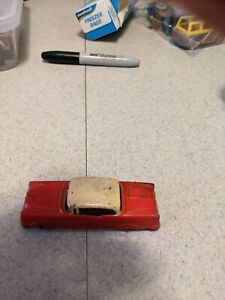 Vintage Red Tootsietoy Olds 98 Holiday 1950s  Nice Early Model! Nice See!