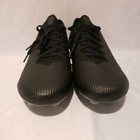 Nike Mercurial Vapor 13 Elite Mens size 12.5 FG Soccer Cleats Black AQ4176-001
