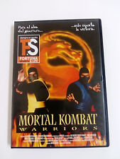 MORTAL KOMBAT Warriors   Dvd Original Cine de Accion Artes Marciales