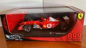 HotWheels Racing 999GP Points Canadian GP 2003 Michael Schumacher Ltd. Ed. 1:18