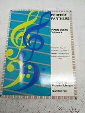 PERFECT PARTNERS PIANO DUETS BOOK VOLUME 3 SHEET MUSIC BEETHOVEN MOZART ETC