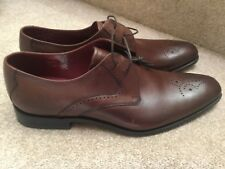 LOAKE DESIGN POWERS BROWN  LEATHER BROGUES  UK  11 new RRP  £165
