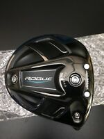 2018 Callaway Rogue RH Sub Zero 9* Driver Head Only & Fits Epic & XR Shafts NICE