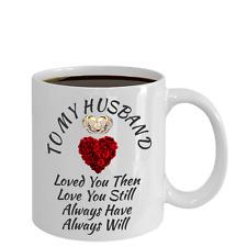 Surprise Birthday Wedding Anniversary Love Gift For Husband Color Changing Mug