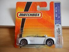 Matchbox Ford Shelby Cobra Concept in White on Blister