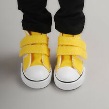Dollmore 1/4 BJD doll shoes MSD - Two strap Sneakers (Yellow)