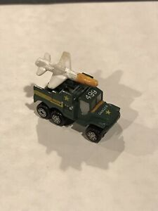 Micro Machines Military Die Cast Green Rocket Transport