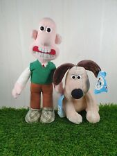1989 Wallace And Gromit Teddies Plush Bundle