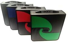 Boostwaves Pu Leather Vinyl 520 CD DVD Blu-Ray Media Wallet Folder Carrying Case