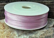 (0,19€/m) 10m Satinband 6mm rosé Schleifenband Kommunion Karten basteln  rosa
