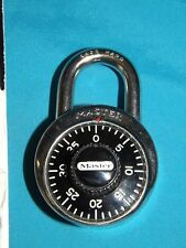 Master Padlock 1500-D Classic Old School Dial Combination Lock Made in USA