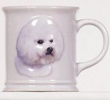Bichon Frise Sculpted Ceramic Mug