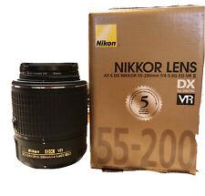 Nikon Nikkor Lens AF-5 DX 55-200mm f/4-5.6G ED VR2