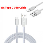 39inch+Type+C+cable+fast+charge+2A+Data+USB+Charge+Cable+Mobile+Phone+Silver+