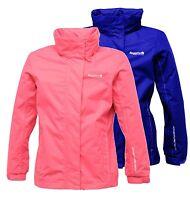 Regatta Spellbind Women's Waterproof Breathable Foldaway Hood Jacket Tulip Pink