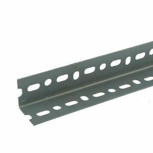 """Slotted Trade Angle (5pk) 3 Meters Steel Construction 1 1/2"""" 40mm x 40mm"""