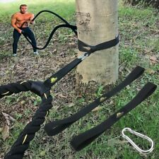 Strap Muscle Workout Fitness Battle Rope Gym At Home Anchor Equipment Sport Tool