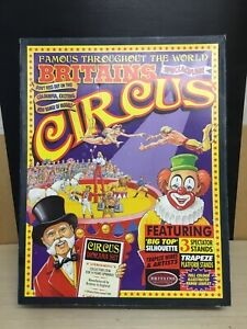 RARE BRITAINS CIRCUS DIORAMA COLLECTORS SET 1998 TRAPEZE ACT NEVER USED MINT