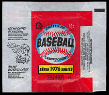 1976 TOPPS OPC O PEE CHEE BASEBALL WAX PACK WRAPPER EX-NM 10 cent