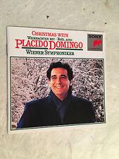 CHRISTMAS WITH PLACIDO DOMINGO HOLDRIDGE SK 37 242 1981 CLASSICA