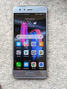 Honor 9 - 64GB & 4GB RAM - Glacier Grey Unlocked, Dual SIM SmartPhone - Boxed