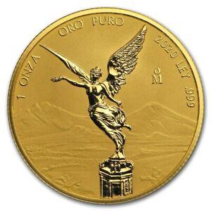 2020 Mexico 1 oz Reverse Proof Gold Libertad