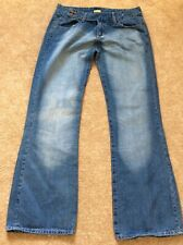 CAT CATERPILLAR 797B Low Rise Size 16 L34 Off-Highway Truck Blue Denim Jeans