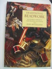 Traditional Beadwork Book HC Eliza McClelland 20 Projects Beading on Canvas Bead
