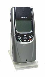 NEW Nokia 8850 -Metallic Silver (Unlocked) Mobile Phone Full Box with warranty