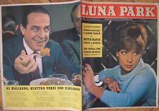 CARLO DAPPORTO  RENATA MAURO ROSSELLA FALK  VADIM BETTE DAVIS LUNA PARK 45 1962