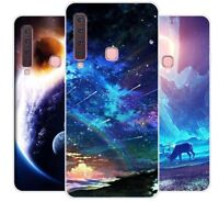 Samsung Galaxy A9 2018 Case Silicone Soft TPU Back Cover Phone Galaxy Stars Gel