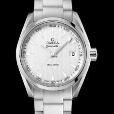 Omega Seamaster Aqua Terra Silvery Dial Stainless Steel Mens Watch 231.10.39.60.
