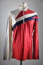 adidas vintage Trikot Jersey Gr.L 90s 90er Ski cycling jersey shiny IZ7
