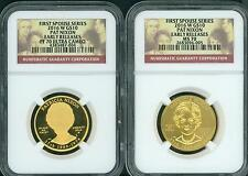 2016-W $10 GOLD SPOUSE PATRICIA PAT NIXON NGC PR70 PF70 & MS70 Early Releases ER