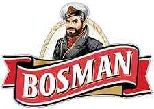 "Bosman Beer Car Bumper Window Locker Sticker Decal 5""X3.5"""