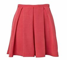 Viscose Cocktail Solid Skirts for Women
