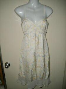 #9 dress 4 I love Heart Ronson pale Sunshine Yellow Sundress NEW NWT