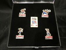 Vintage 1994 World Cup CANON 5 PINS SET VERY RARE