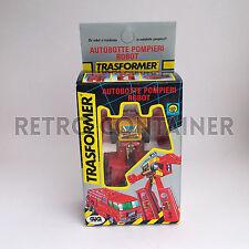 TRASFORMER Italian GIG TAKARA Pre Transformers MISB Autobotte Pompieri Nuovo