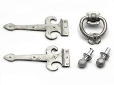Dolls House Non Working Metal Hinges Knocker Knobs Miniature Door Furniture 1:12