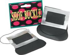 Adult Christmas Witch Fancy Party Footwear Costume Shoe Buckles Only UK