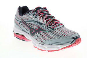 Mizuno Wave Legend 3 J1GD151015 Womens Silver Mesh Athletic Running Shoes 6.5