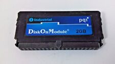 PQI PC Card Industrial Disk On Module 2G Storage P/N DJ0020G22RPO L/N P0730292