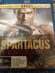 Spartacus Vengeance Blu Ray