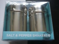 BN Salt & Pepper Shakers, Stainless Steel Pots.