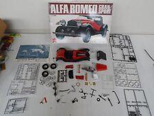 Bandai big scale 1/12 Alfa Romeo Gran Sport Quattroruote motore 1750 per ricambi
