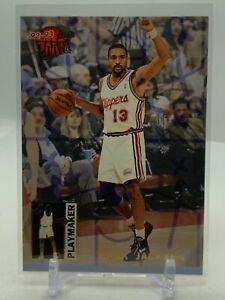 MARK JACKSON - 1992-93 FLEER ULTRA BASKETBALL - PLAYMAKER INSERT - #4