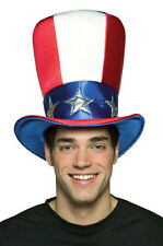 Brand New 4th of July American Uncle Sam Top Hat Headgear Costume Accessory