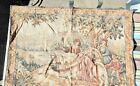 Vintage tapestry, mediaeval hunting scene, Franklin Mint