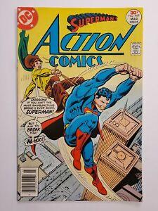 ACTION COMICS #469 (VF-) 1977 BUCKAROO BANDIT VS. SUPERMAN COVER & APPEARANCE
